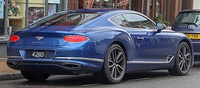 2019 Bentley Continental GT Coupe 6.0 Rear.jpg
