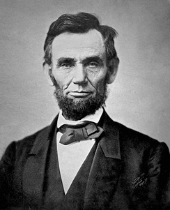 Abraham Lincoln, the 16th President of the United States