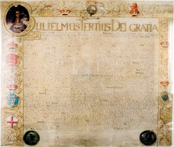 Facsimile of the Act of Settlement sent to Electress Sophia of Hanover