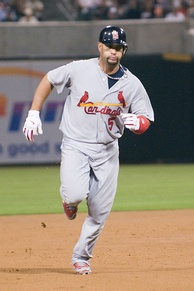 Albert Pujols is one of the most accomplished players in Cardinals' history.