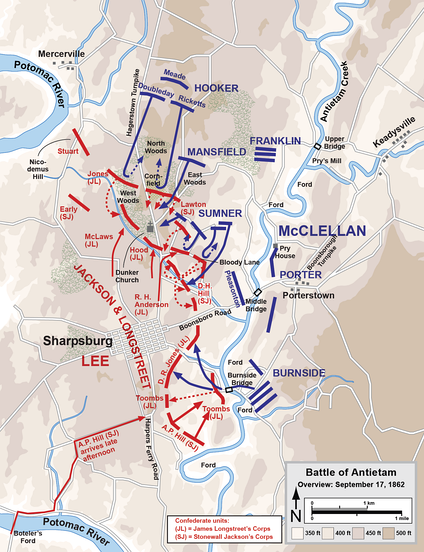 Overview of the Battle of Antietam