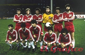 Argentinos Juniors won the 1985 Libertadores after defeating América de Cali by penalty shoot-out