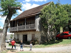 A 19th-century house built by Italian immigrants in Caxias do Sul.