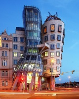 Dancing House in Prague (1996)