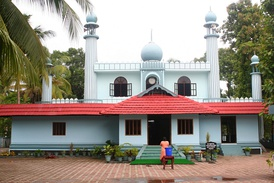 Cheraman Perumal Juma Masjid on the Malabar Coast, probably the first Mosque in India.