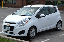 Chevrolet Spark (Canada, first facelift)