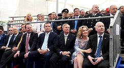 Cruz attended the opening of the US Embassy to Israel in Jerusalem in May 2018