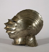 16th century Maximilian style close helmet