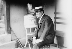 O'Day as Cubs manager (1914)