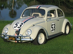 Original car used during filming of Herbie Goes to Monte Carlo