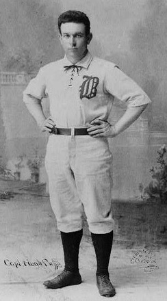 Hugh Duffy set the current single-season record when he batted .440 in 1894.