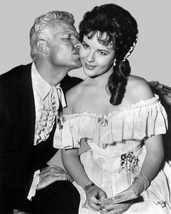 "Garner as Pappy and Kaye Elhardt in ""Pappy"""