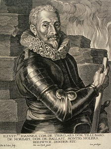Johann Tserclaes, Count of Tilly, commander of the Imperial, Spanish, and Bavarian armies