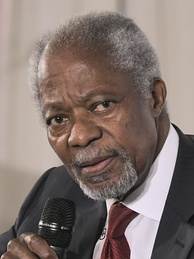 Annan during the Munich Security Conference 2018
