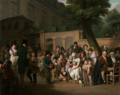 Louis-Léopold Boilly- Entrance to the Jardin Turc