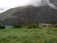 Hussaini village on Attabad Lake
