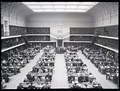 Main reading room, Mitchell Building, 1943