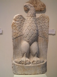 Marble eagle from the sanctuary of Zeus Hypsistos, Archaeological Museum of Dion.