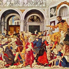 The Massacre of the Innocents at Bethlehem, by Matteo di Giovanni