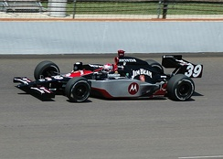 Andretti practicing for the 2007 Indy 500.
