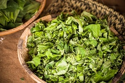 Liponda greens to be cooked and accompany ugali in east Africa
