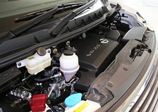 The VQ25DE engine installed in a 2007 Nissan Elgrand