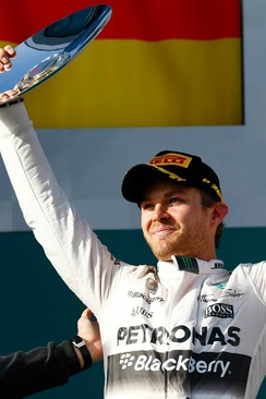 Nico Rosberg won the Monaco Grand Prix three times in a row from 2013 to 2015, racing for Mercedes.