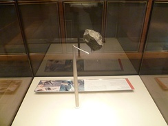 Stone chopping tool from Olduvai Gorge