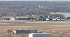 Omaha's Eppley Airfield in East Omaha