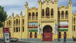 Plaza de Toros de Albacete, influence moorish.