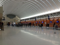 Ticket Counters at San Antonio International Airport