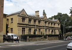The Old Registry Office, now part of the Supreme Court of New South Wales, was one of three of the earliest established courts in Sydney.