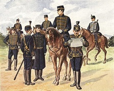 Swedish hussar regiments 1895–1910