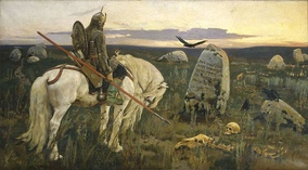 Victor Vasnetsov, The Knight at the Crossroads, 1878