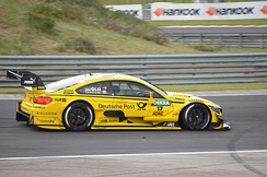 Glock at the 2014 Hungarian DTM race