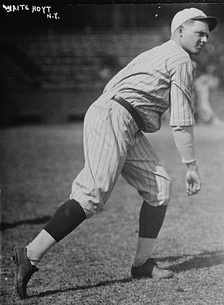 Pitcher Waite Hoyt (1918) was inducted in the National Baseball Hall of Fame in 1969.