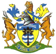 Coat of arms of Grootfontein, Namibia.