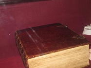 The George Washington Inaugural Bible, on which Washington took his inaugural oath in 1789