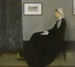 Arrangement in Grey and Black No.1 (1871), popularly known as Whistler's Mother, Musée d'Orsay, Paris
