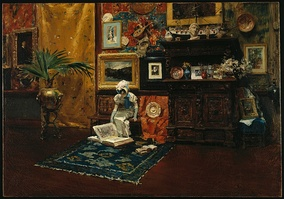 Studio Interior, c. 1882, Brooklyn Museum