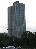 In 2008, One Museum Park (left May 25, 2008) replaced 1700 East 56th Street (right 2007-06-02) as the tallest South Side building. It has also replaced 340 on the Park as the tallest all-residential building in Chicago.