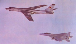 43d Tactical Fighter Squadron - F-15s - Tu 16 Bager Intercept