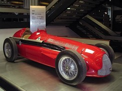 Alfa Romeo won four of the eight World Championship races in 1951 with the Type 159