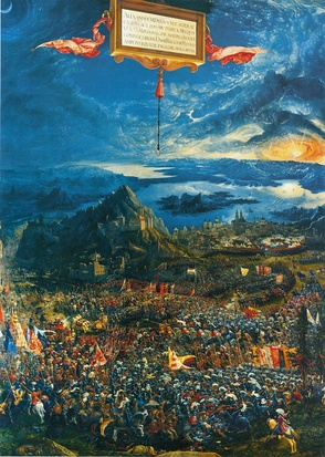 The Battle of Issus by Albrecht Altdorfer, 1529