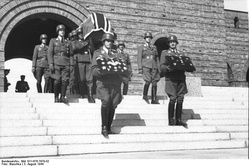 Funeral of General Günther Korten at the Tannenberg Memorial