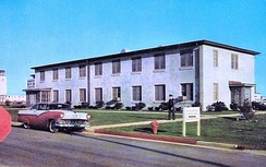 Headquarters 1607th Air Transport Wing, about 1960