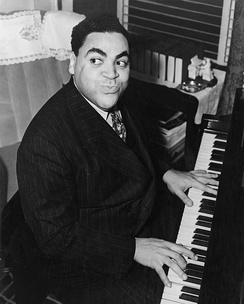 "Thomas ""Fats"" Waller (1904–1943), a student of James P. Johnson, was an important contributor to the stride piano style."