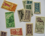 French India postage stamps