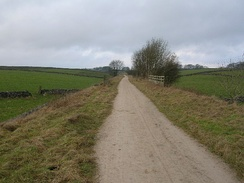 The term highway includes any public road. This is an unpaved highway in Northern England.