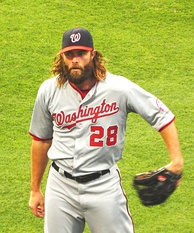 Werth playing in Citizens Bank Park against the Phillies in June 2014